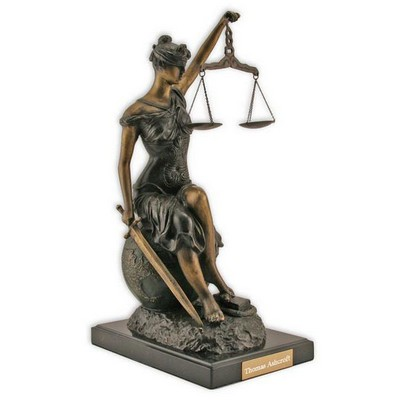 Limited Edition Lady Justice Sculpture