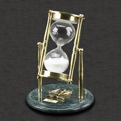 Time for Justice 30 Minute Hourglass