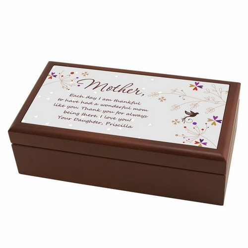 Letter to Mom Personalized Keepsake Box