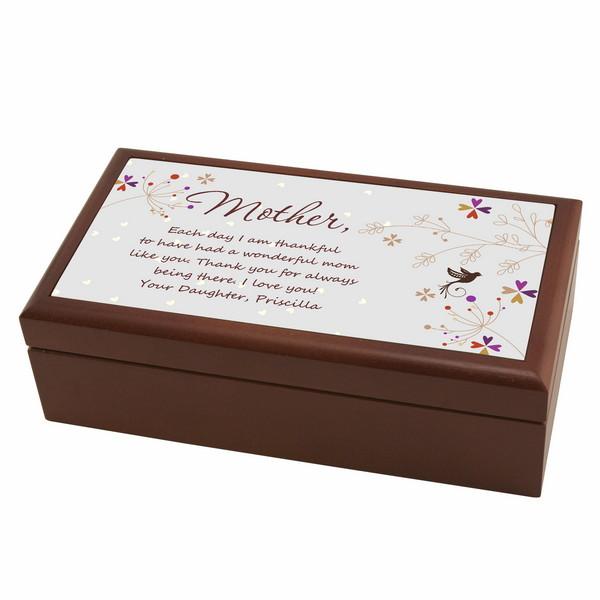 to personalized keepsake box