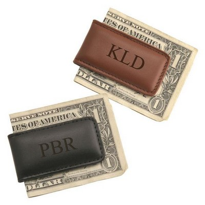 Exquisite Leather Money Clip