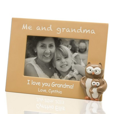 Me and Grandma Customized 4x6 Picture Frame