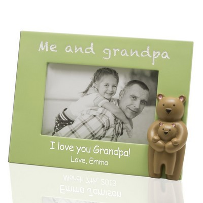 Me and Grandpa Customized 4x6 Picture Frame