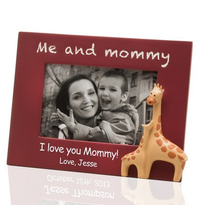Me and Mommy Personalized 4x6 Photo Frame