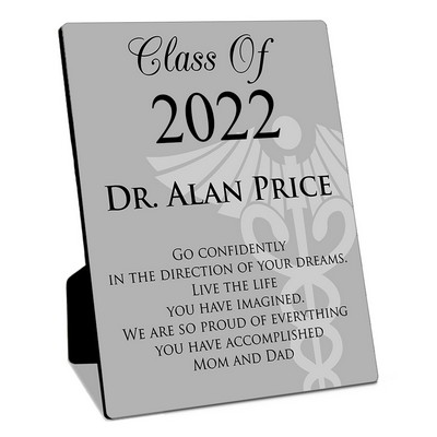 Medical School Graduate Personalized 8x10 Plaque with Easel