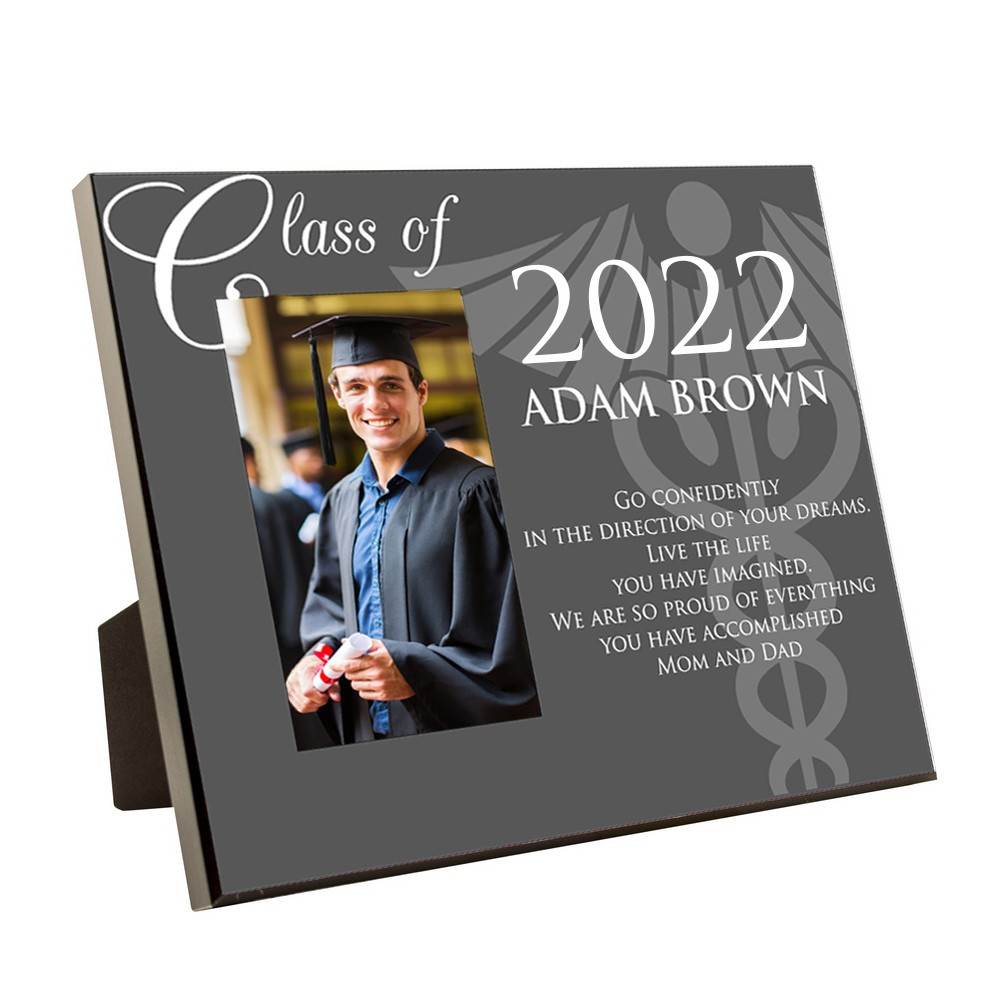 Medical School Graduation Personalized 4x6 Picture Frame