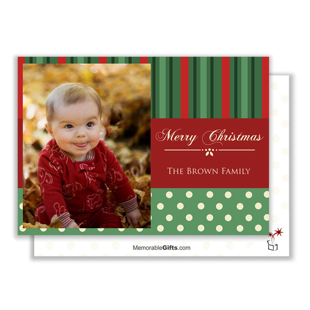 merry christmas family photo card - Merry Christmas To The Family