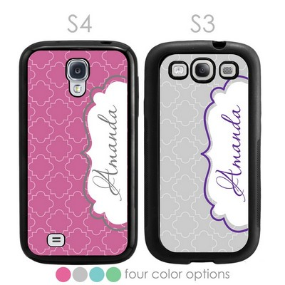 Modern Elegance Personalized Galaxy S3-S4 Case