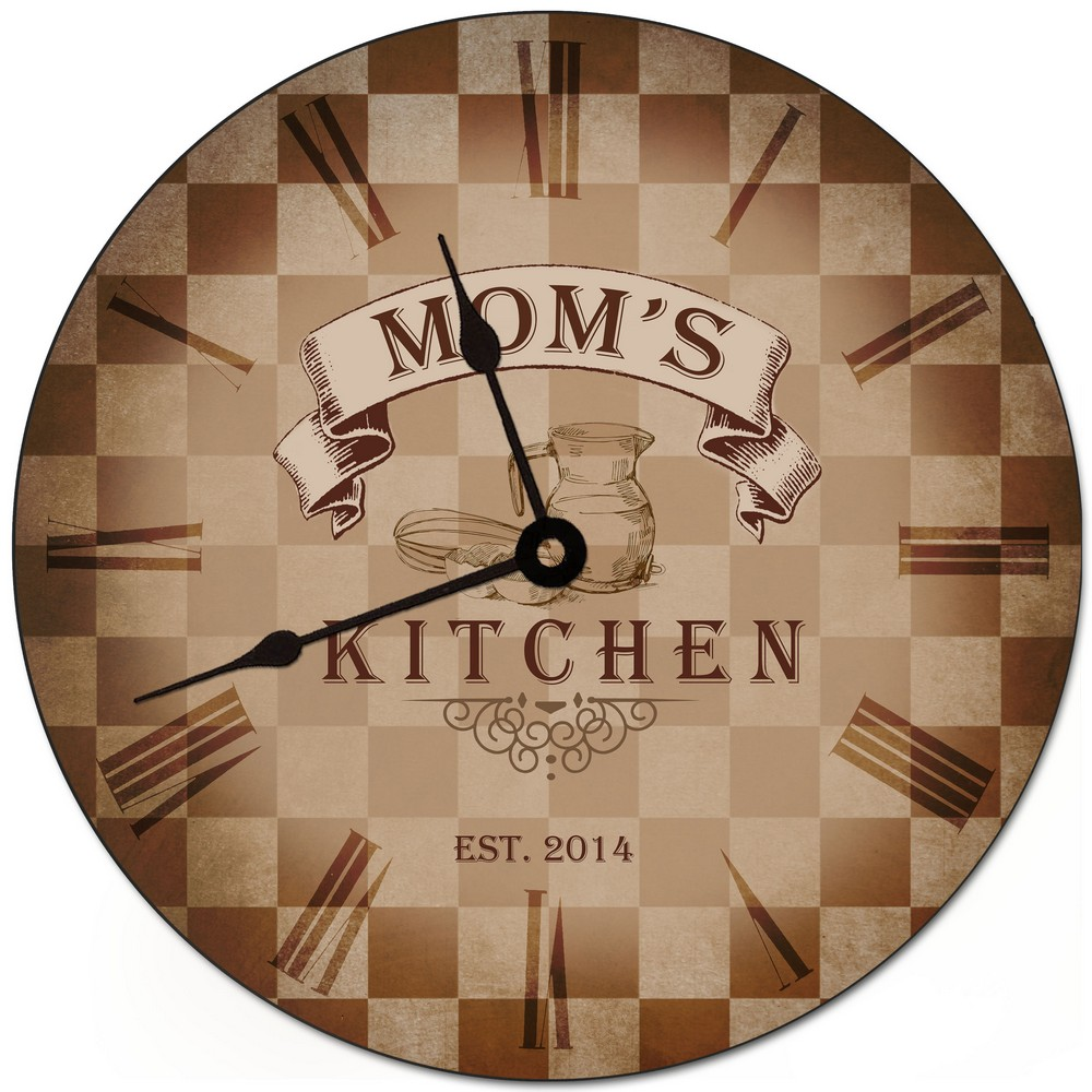 My Kitchen Personalized Wall Clock