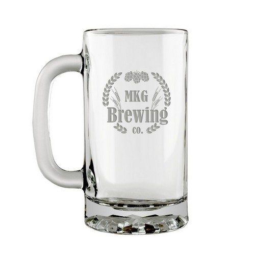 My Brewing Co Glass Beer Mug