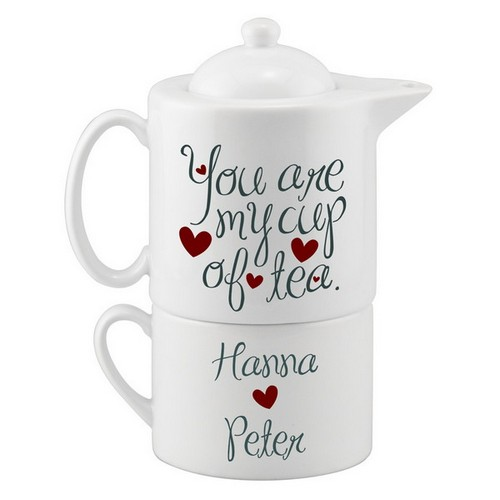 My Cup of Tea Personalized Tea Set