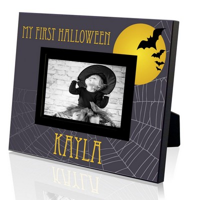 My First Halloween Personalized 4x6 Frame