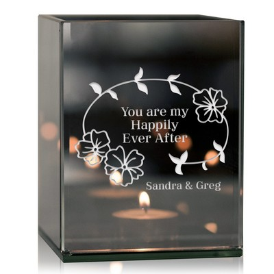 My Happily Ever After Personalized Tea Light Candle Holder