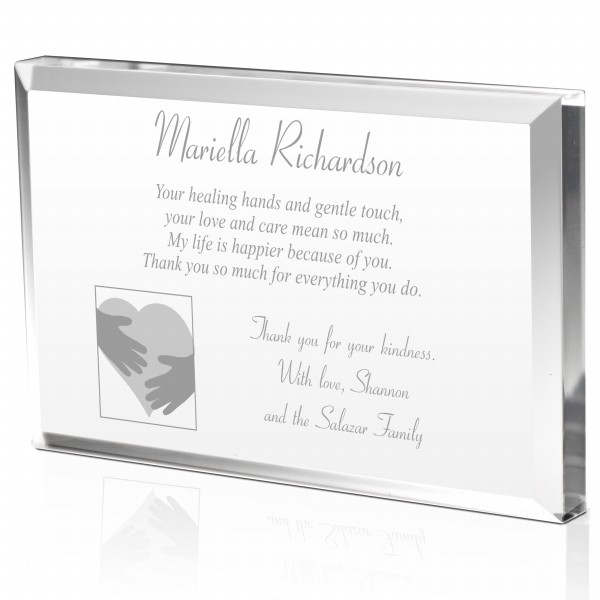 Personalized Heartfelt Thank You Plaque for Doctors