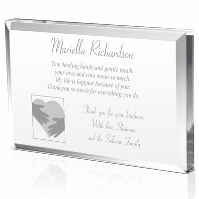 Heartfelt Thank You Plaque for Doctors