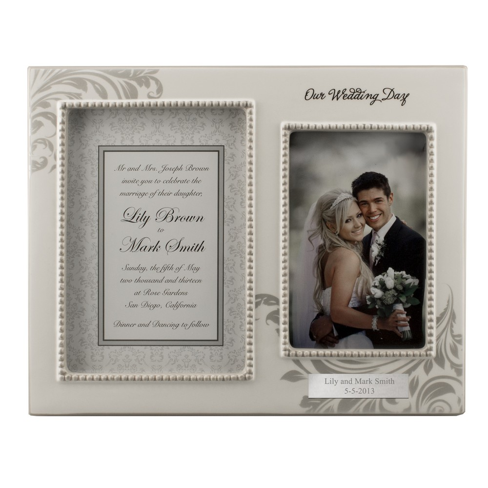 Wedding Picture Gifts: Personalized Wedding Gifts: Congratulate The Couple In
