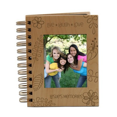 Live Laugh Love Floral 4x6 Photo Album