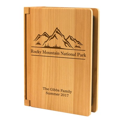 Personalized Nature Vacation Photo Album