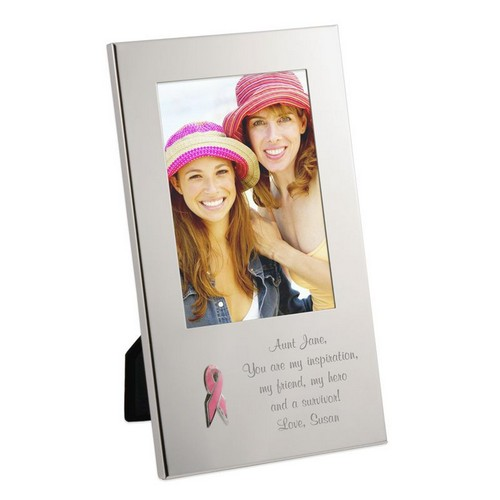 Pink Ribbon Breast cancer Awareness Frame