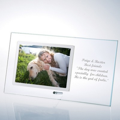 Glass Horizontal 4x6 Photo Frame