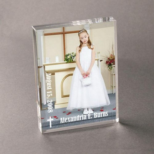 Acrylic Confirmation and First Communion Picture Frame