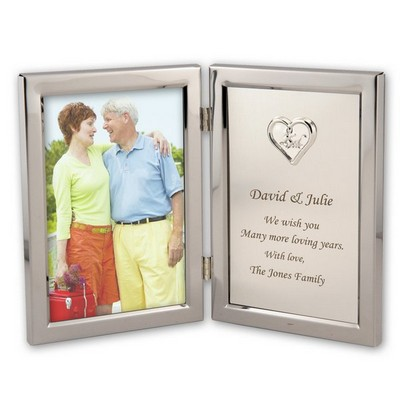 25th Anniversary Keepsake Frame