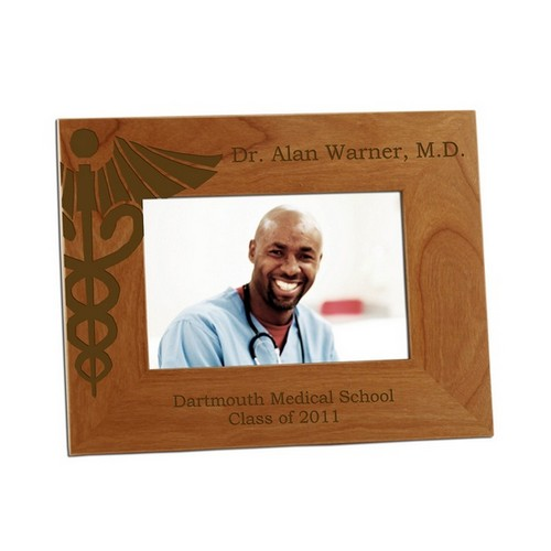 Doctor Caduceus 4x6 Photo Frame