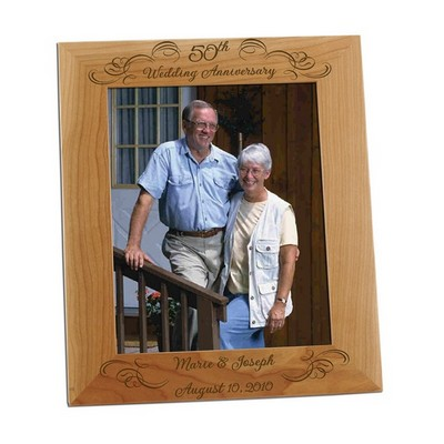 50th Wedding Anniversary 8x10 Photo Frame
