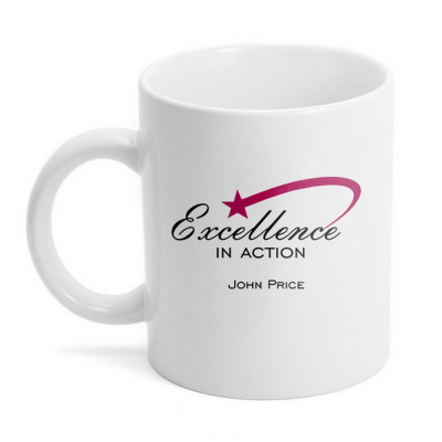 Personalized  Excellence Ceramic Mug