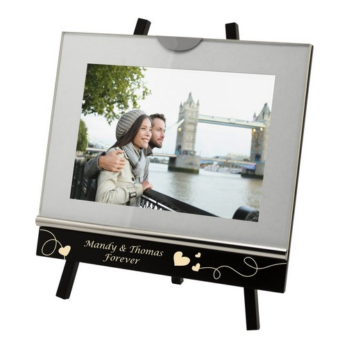 Personalized 5x7 Studio Photo Frame with Easel