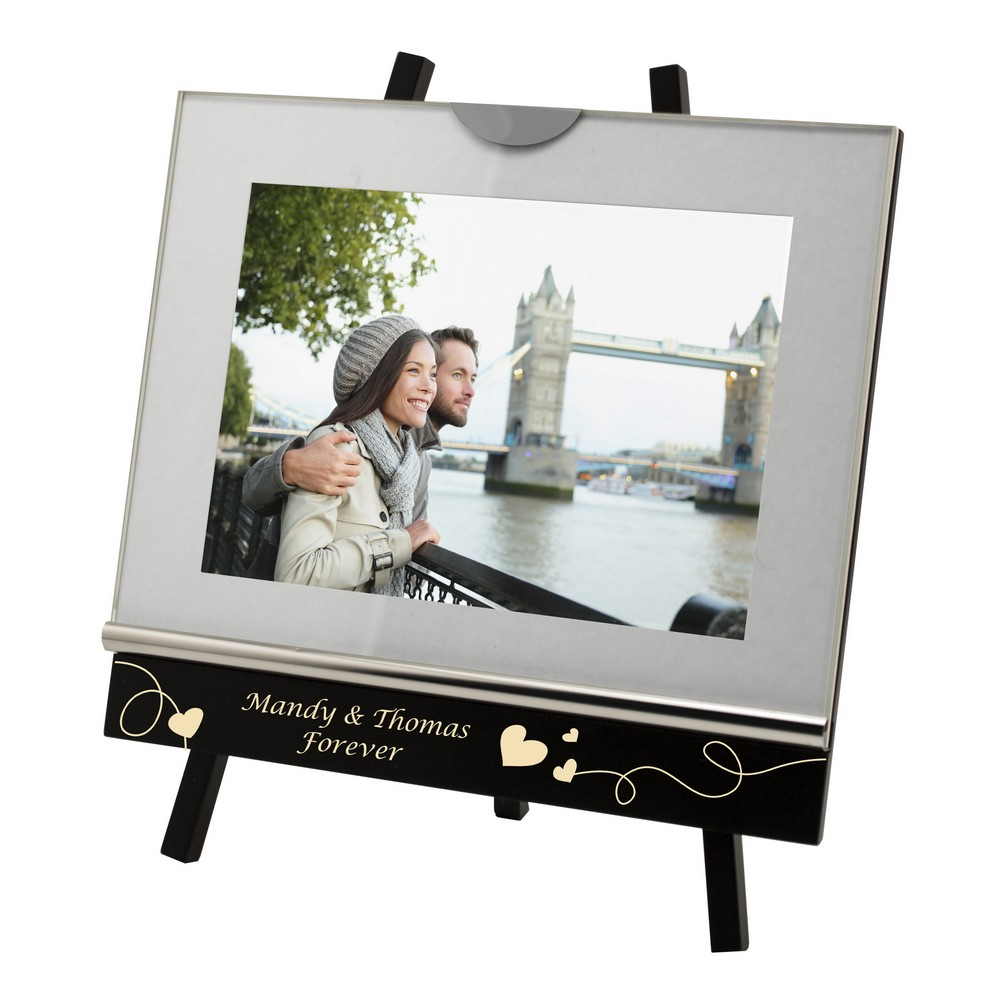 personalized 5x7 studio photo frame with easel - Easel For Picture Frame