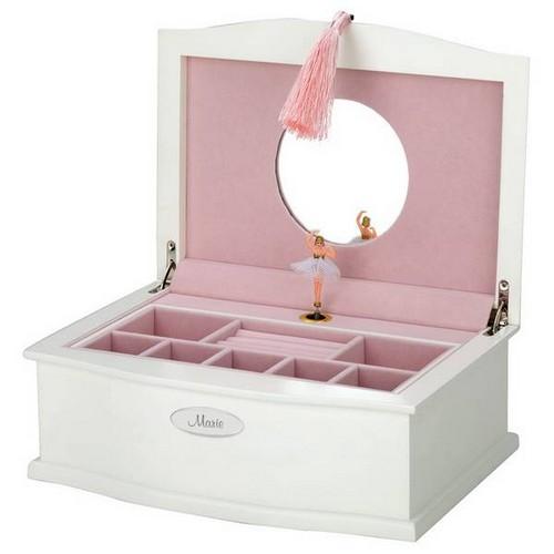 personalized ballerina jewelry box. Black Bedroom Furniture Sets. Home Design Ideas