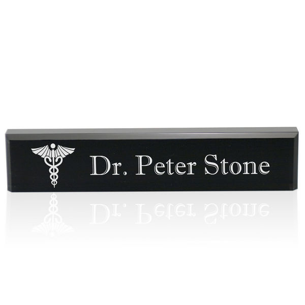 Desk Name Plate for Doctors