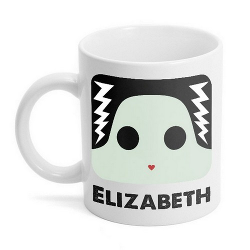 Personalized Bride of Frankenstein Mug