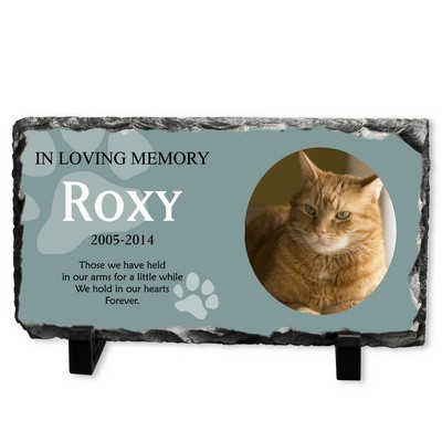 Personalized Cat Memorial Stone Plaque