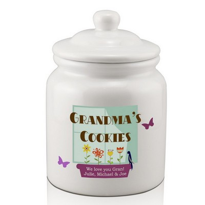 Personalized Cookie Jar for Grandma