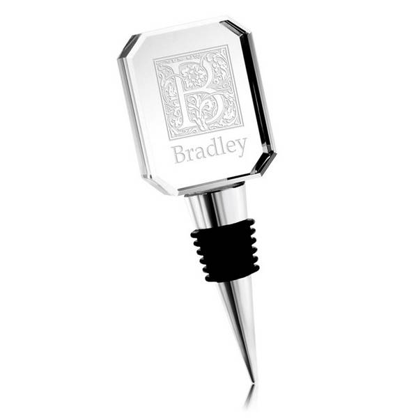 Personalized Crystal Wine Bottle Stopper