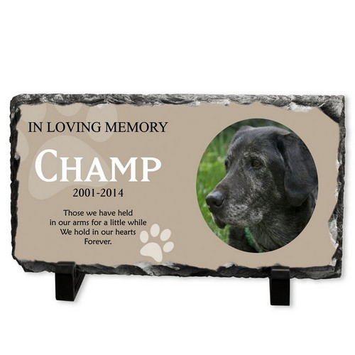 Personalized Dog Memorial Stone Plaque