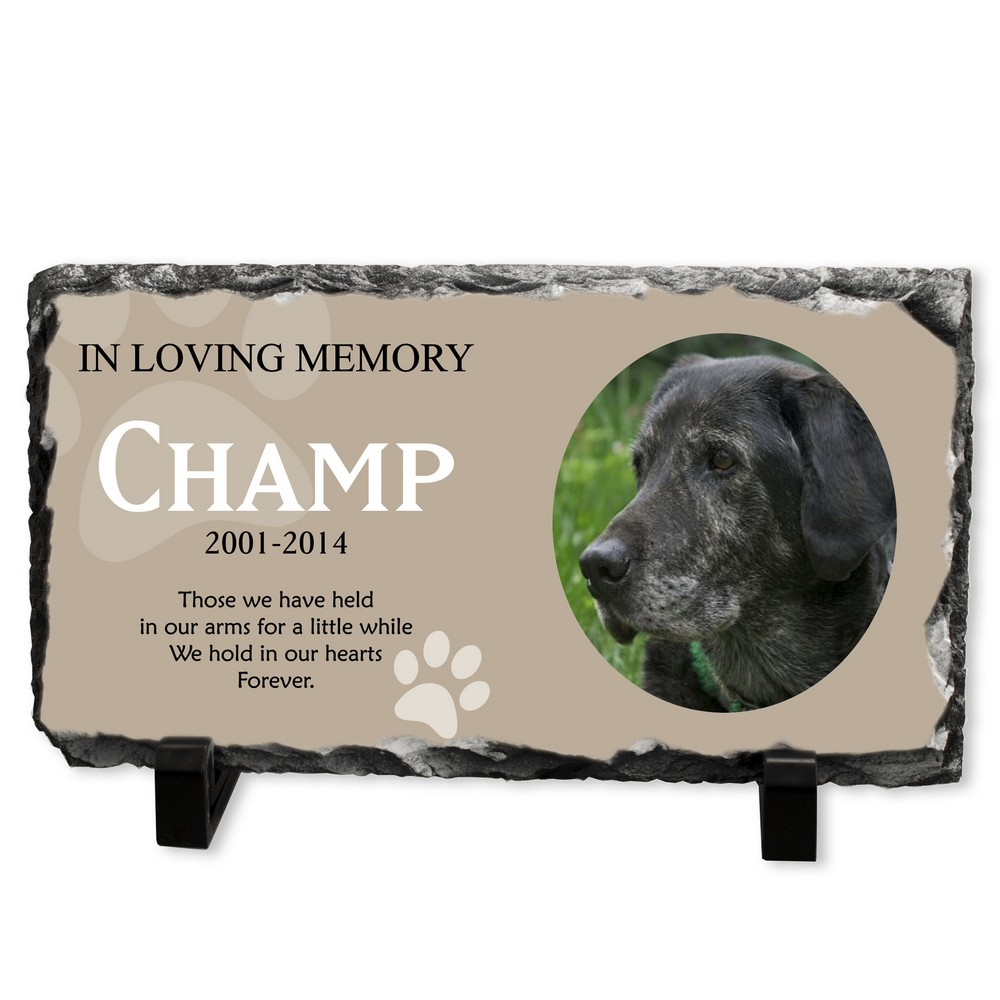 Personalized Dog 4x6 Wood Photo Frame | Engraved Dog Picture Frame