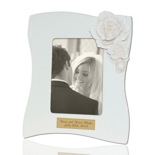 Personalized Gardenia 5x7 Picture Frame by Lenox