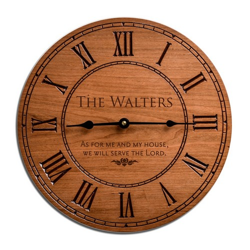 personalized_wood_clock_fathers_day