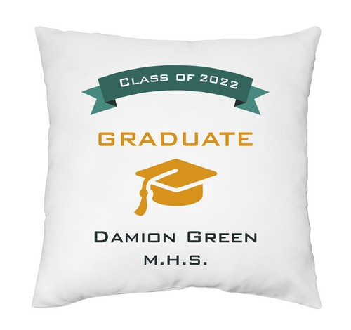 Personalized Graduate Pillow Case