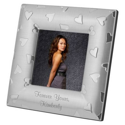 Personalized Heart Photo Frame