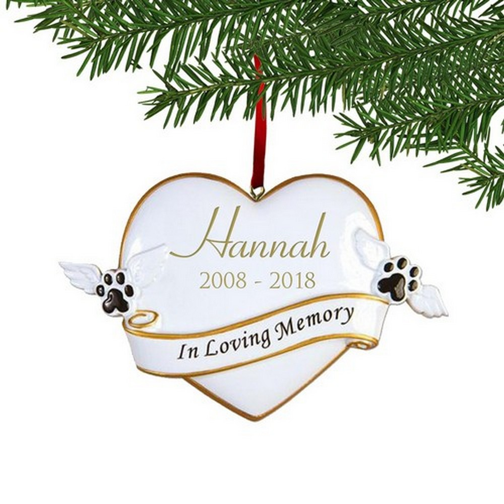Personalized In Loving Memory Ornament For Pets