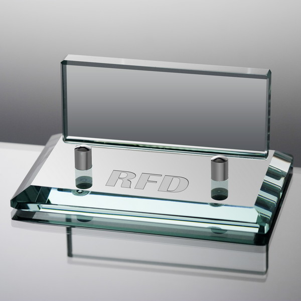 Personalized jade glass business card holder colourmoves