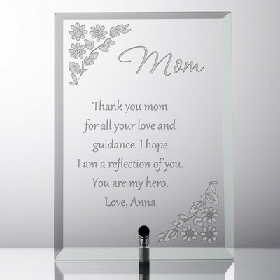 Personalized Keepsake Plaque for Mom