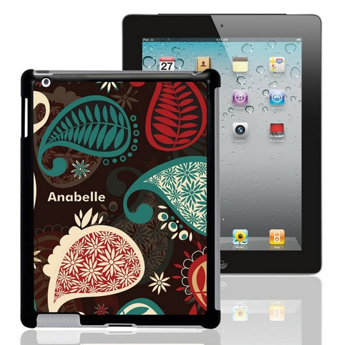 Personalized Paisley iPad Case