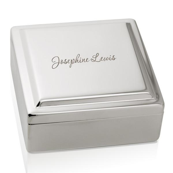 silver keepsake box