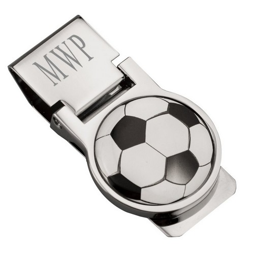 Personalized Soccer Ball Money Clip