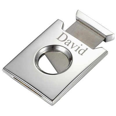Personalized Stainless Steel Cigar Cutter